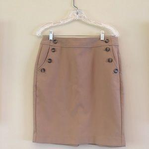 Loft size 6 pencil skirt